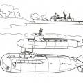 Dibujos Para Colorear De Submarinos