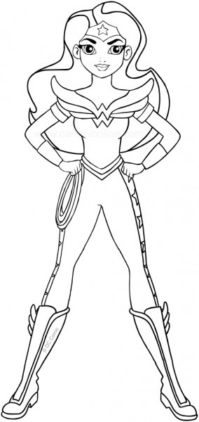 The 20 Best Ideas For Dc Super Hero Girls Coloring Pages