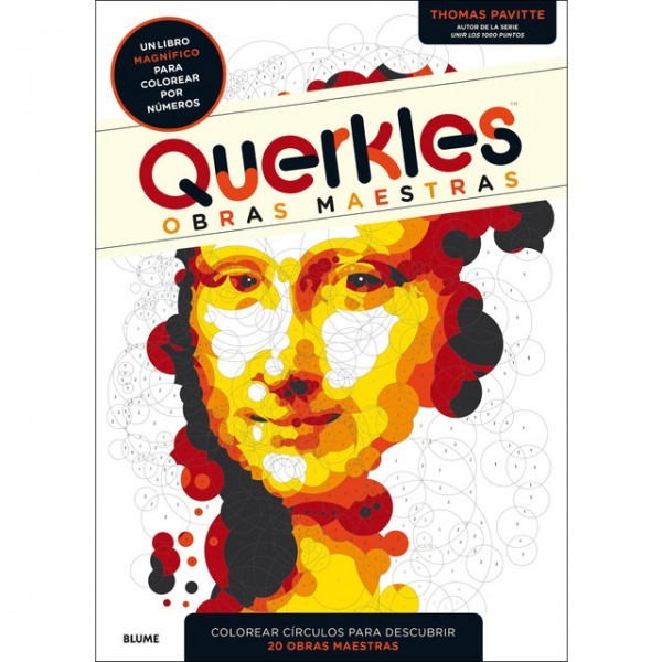 Querkles  Obras Maestras  Un Libro Magnífico Para Colorear Por