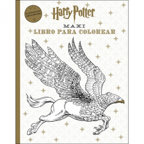 Harry Potter Maxi Libro Para Colorear Pdf Gratis