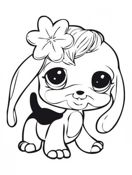 Littlest Pet Shop, Dibujos Para Colorear