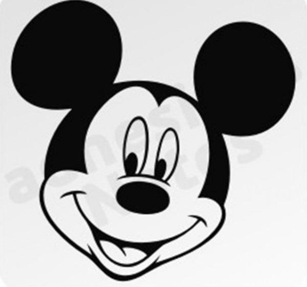 Caras Para Colorear De Mickey Mouse
