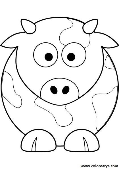 Vacas Animadas Para Pintar