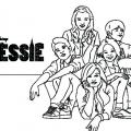 Dibujos Para Colorear De Jessie Disney Channel