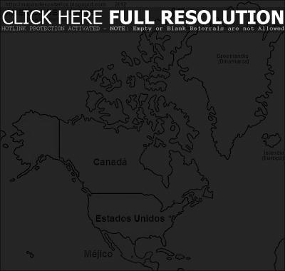 Mapa De Sudamerica Para Colorear