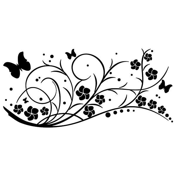 Enredaderas De Flores Para Dibujar