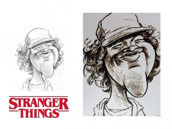 Stranger Things Dibujo Dustin Henderson By Tresdlito