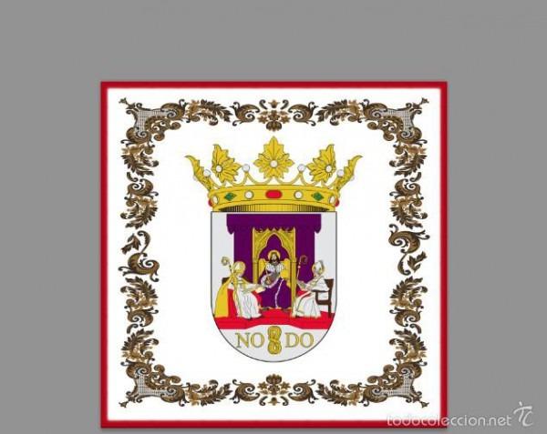 Azulejo 10x10 Con Escudo De La Ciudad De Sevill