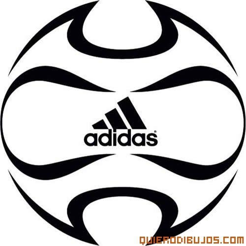 Balón De Fútbol Para Pintar  Adidas