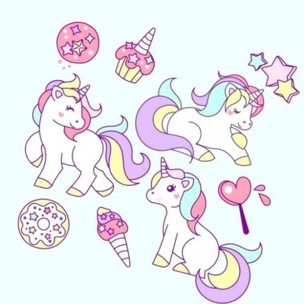 Colorear Unicornios Para Scargar Para Y Juegos Para Colorear De