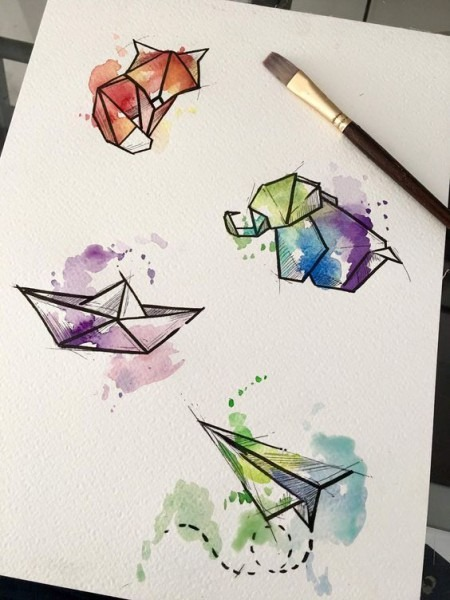 Diy Ideas Para Pintar Con Acuarelas, Como Pintar Con Acuarelas