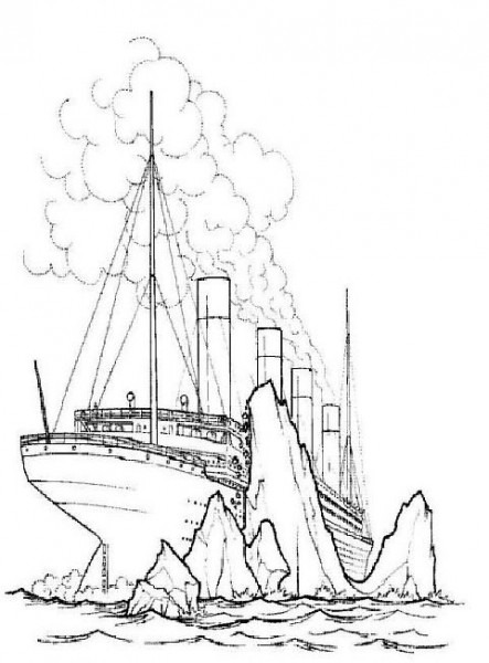 30 Coloring Pages Of Titanic On Kids
