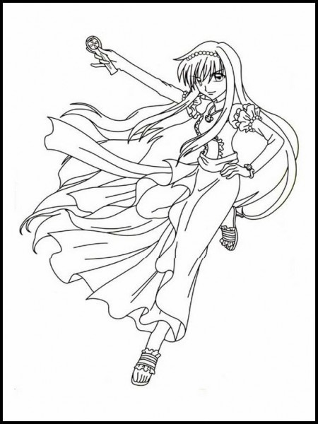 Mermaid Melody Pichi Pichi Pitch 31 Printable Coloring Pages For