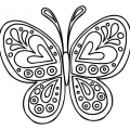 Colorear Dibujos Mariposas
