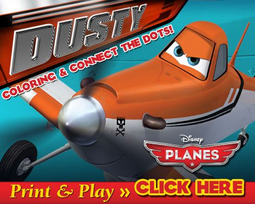 Whirlwind Of Surprises  Adorable  Disneyplanes Activity Sheet