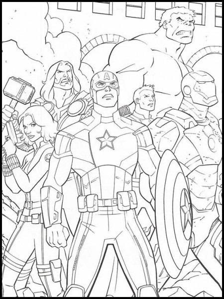 Dibujos Faciles Para Dibujar Vengadores  Endgame 16