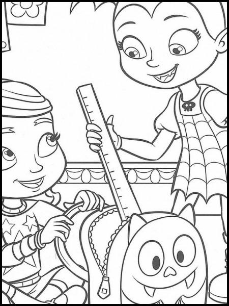 Vampirina Dibujos Para Colorear Para Niños 7