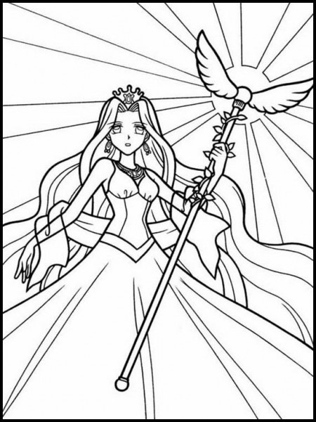 Mermaid Melody Pichi Pichi Pitch 36 Printable Coloring Pages For