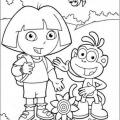 Dora La Exploradora Dibujos Para Colorear