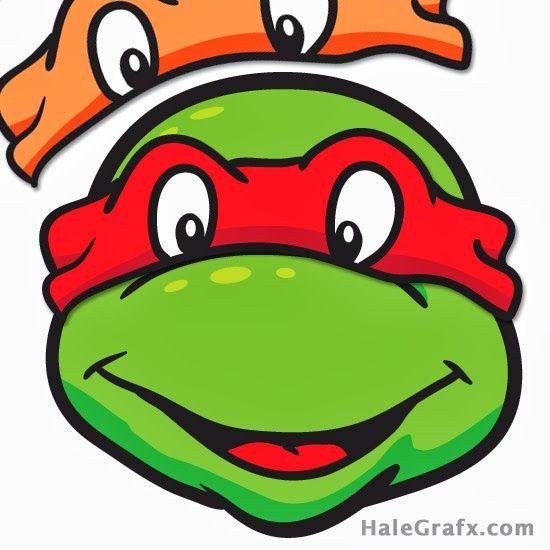 Ponle El Antifaz A Las Tortugas Ninja  Para Imprimir Gratis