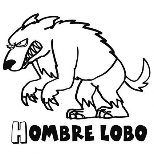 Dibujo Del Lobo Feroz Para Imprimir Y Colorear