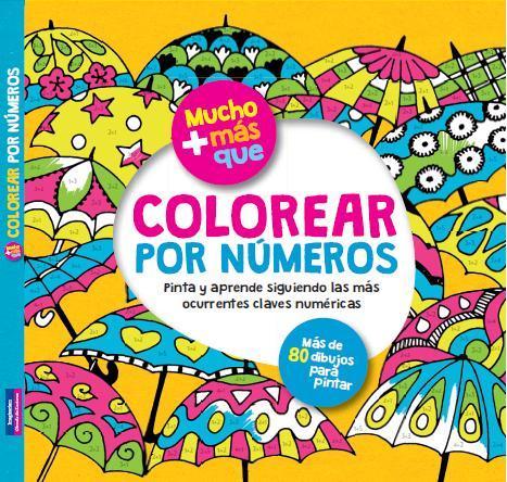 Colorear Por Numeros  Vv Aa   Libro En Papel  9788415807506