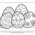 Pascua Para Colorear