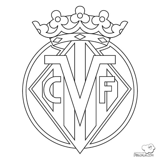 Escudo De Granada C F Colouring Pages