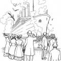Dibujo Titanic Para Colorear