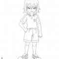 Inazuma Eleven Go Para Colorear