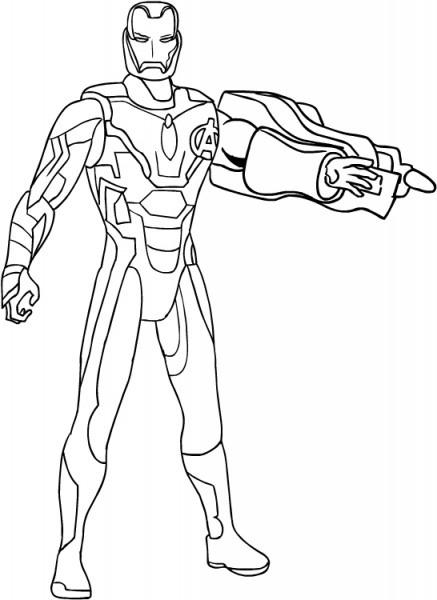 Dibujo De Iron