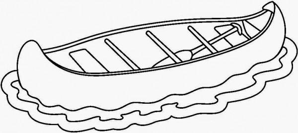Dibujos De Canoas Para Colorear