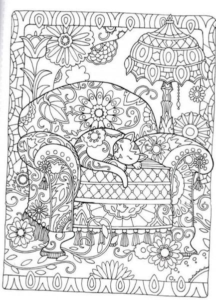 Pin De Allison Delgado En Dibujos Relajantes