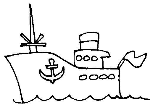 Dibujos  Barco