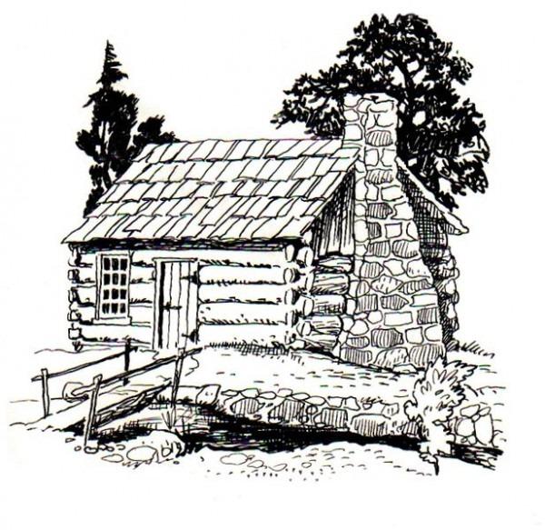 Dibujos De Cabañas De Madera