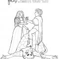 Dibujos De Sant Jordi Para Colorear