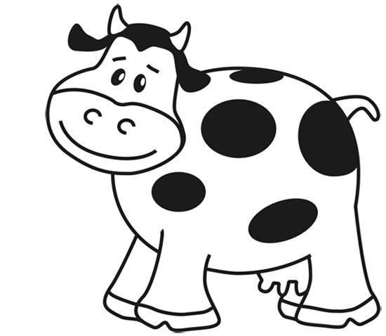 ᐈ Dibujos De Vacas【+guia】pinta Una Vaca Fácil