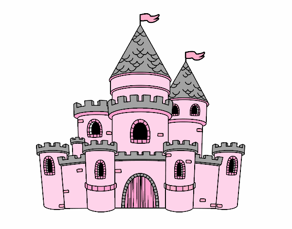 Dibujo De Castillo De Princesas Pintado Por En Dibujos Net El Día