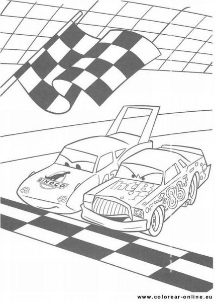 Colorear Dibujos De Cars Disney Pixar