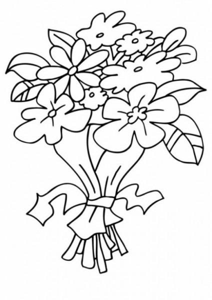 Ramos De Flores De Novia Para Pintar
