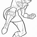 Dibujos Para Colorear Power Rangers Megaforce