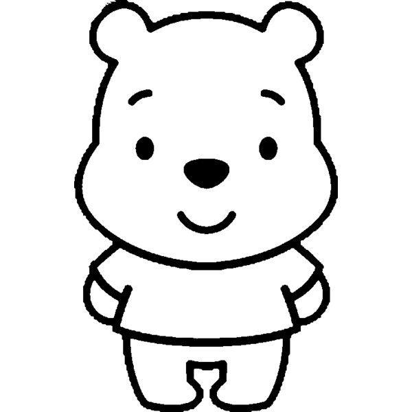 Dibujo De Winnie The Pooh Bebé