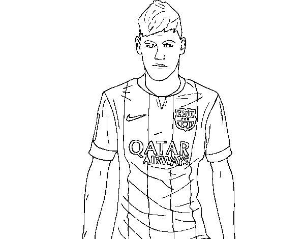 Dibujos Del Barcelona Para Colorear