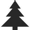 Estrella Arbol De Navidad Para Colorear