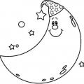 Dibujos Para Colorear La Luna