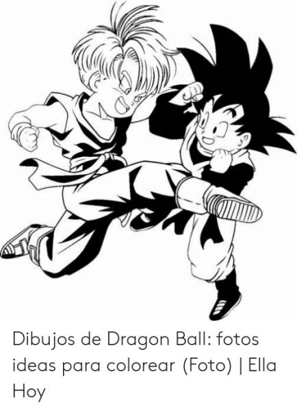 Dibujos De Dragon Ball Fotos Ideas Para Colorear Foto