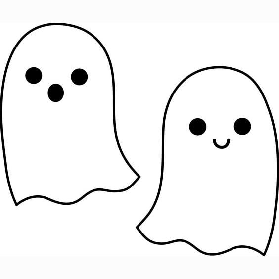 ▷ Dibujos De Fantasmas