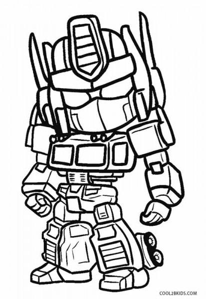 Dibujos De Robots Para Colorear