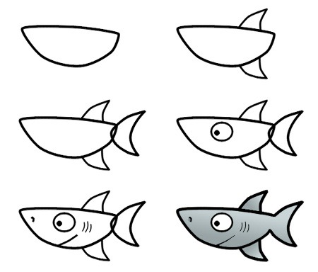 Galeria De Dibujos De Tiburones De Tiburonpedia » Tiburonpedia