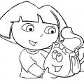 Dibujos De Dora Para Colorear Online